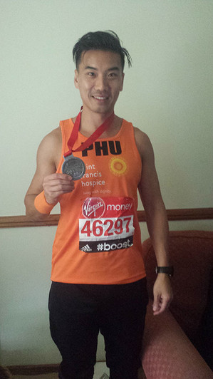 """""""I was extremely impressed with her knowledge"""" - Phu Ly, London Marathon 2015"""