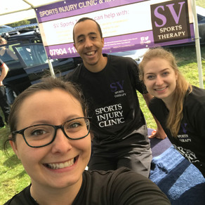 SV provides sports therapy support at Warrior Adrenaline Race in Hertfordshire