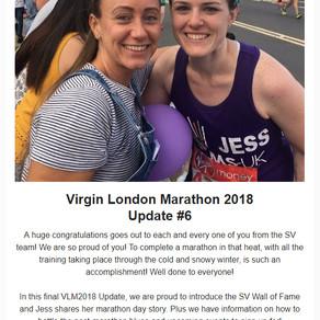 Virgin London Marathon 2018 Update #6