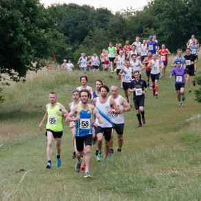 SV attends second race in Orion Harriers' Forest Five series