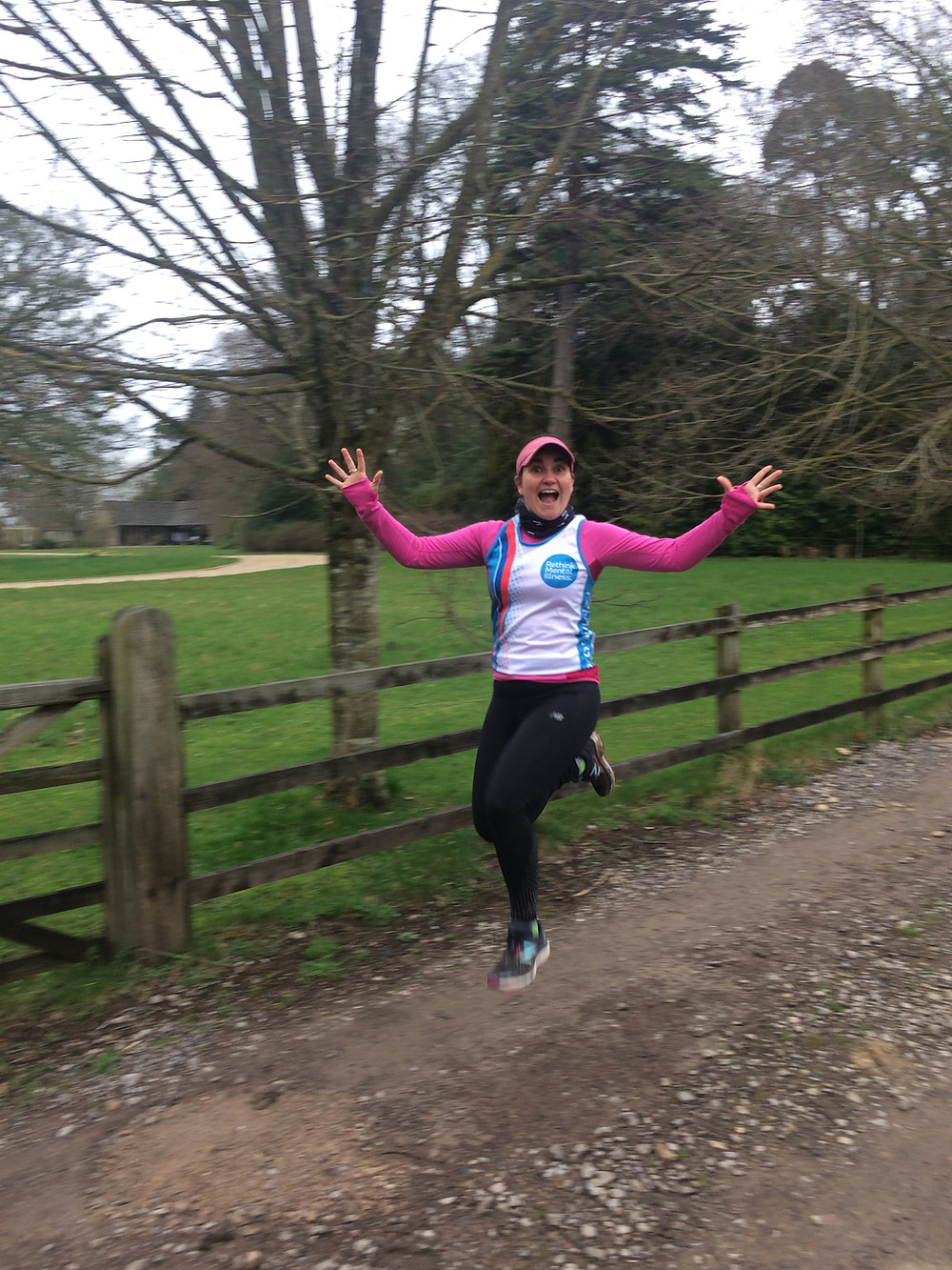 Debbie Tulloch running VLM for Rethink Mental Illness