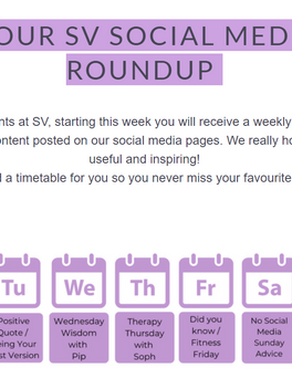 Your Weekly Social Media Roundup!