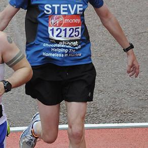 """Helped me to get fit enough to run"" - Steve Jack, London Marathon 2015"
