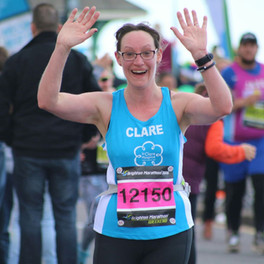 Clare set to run 12 races in 12 months!