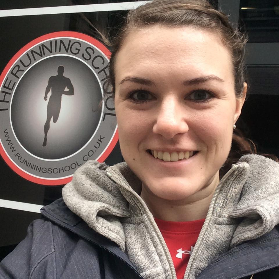 SV's Jess Armstrong outside The Running School