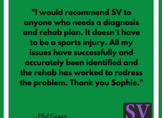 """... All my issues have successfully and accurately been identified and the rehab has worked to"