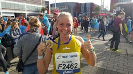 Marathon training tips from Dani Nimmock following her new PB at Frankfurt Marathon
