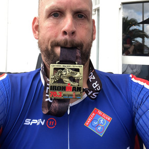 Congratulations to Jason Pite on completing Weymouth 70.3 Half Ironman
