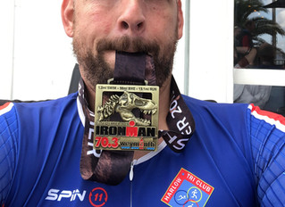 Congratulations to Jason Pite on completing Weymouth 70.3 Half Ironman