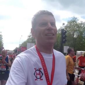 John Hanlon, veteran of 28 marathons, talks about his journey as a runner and trainer