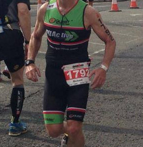 """Injury free for the first time in a long while"" - Richard Milnes, Ironman Competitor 2014"