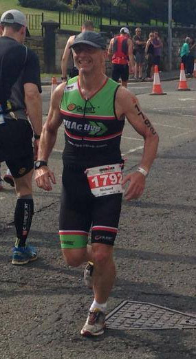 """""""Injury free for the first time in a long while"""" - Richard Milnes, Ironman Competitor 2014"""