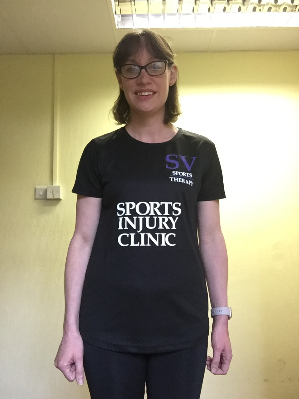 Clare Gallagher running for St Clare Hospice