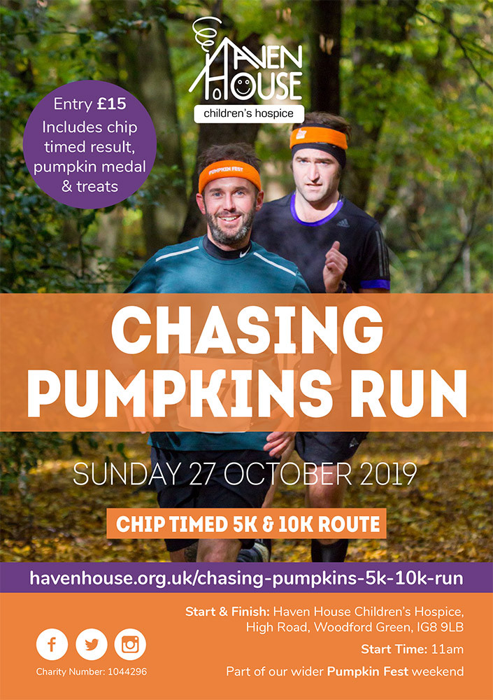 Haven House Chasing Pumpkins Run