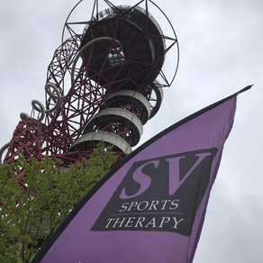 SV provides pre and post-race treatments at RunThrough Olympic Park 5k & 10k