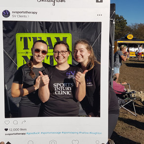 SV provides pre and post race sports massage and taping at OCR World Championships