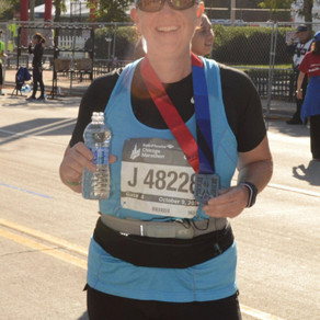 Congratulations to Maxine Sinda Napal on completing the Chicago Marathon