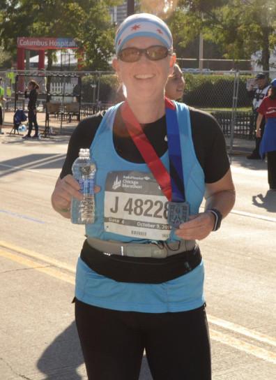 Maxine Sinda Napal, Chicago Marathon