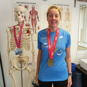 """""""I really feel without them I would not have been able to continue to run"""" - Alison Baylis"""