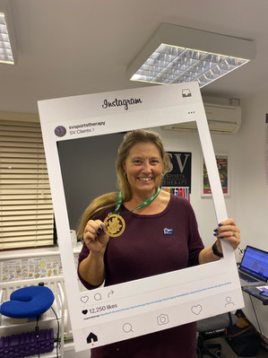 Congratulations to SV client Wendy Crawley on completing Royal Parks Half Marathon