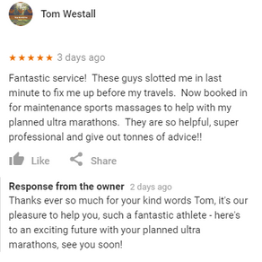"""""""These guys are so helpful, super professional and give out tonnes of advice"""" - Tom Westal"""