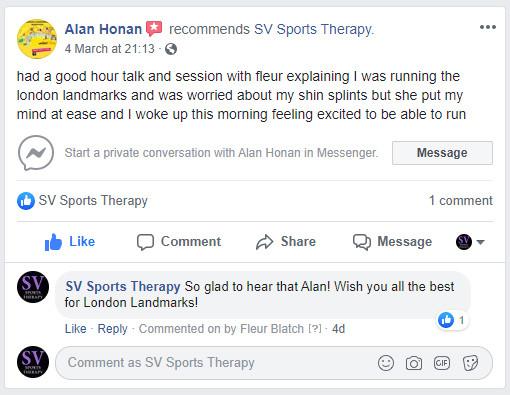 Alan Honan Facebook Review