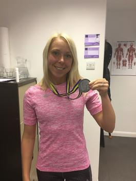 Our client Dani Nimmock gets a new PB at Stockholm Marathon