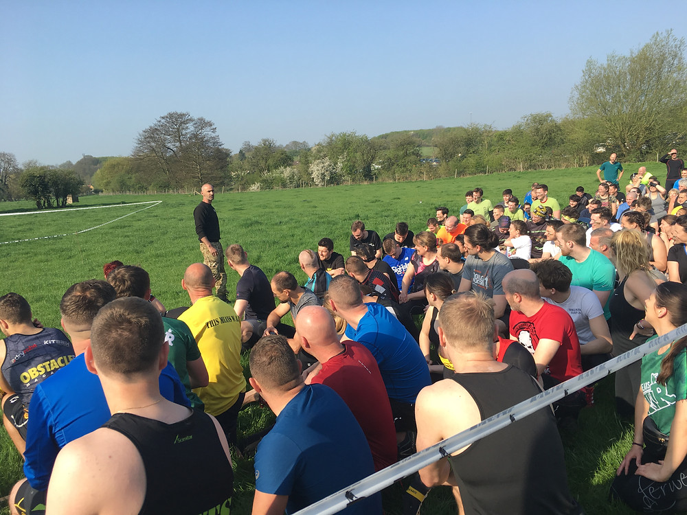SV attends Warrior Adrenaline Race in Hertfordshire