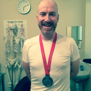 """""""I was able to record a faster time in my second marathon – this is mainly due to the commitmen"""