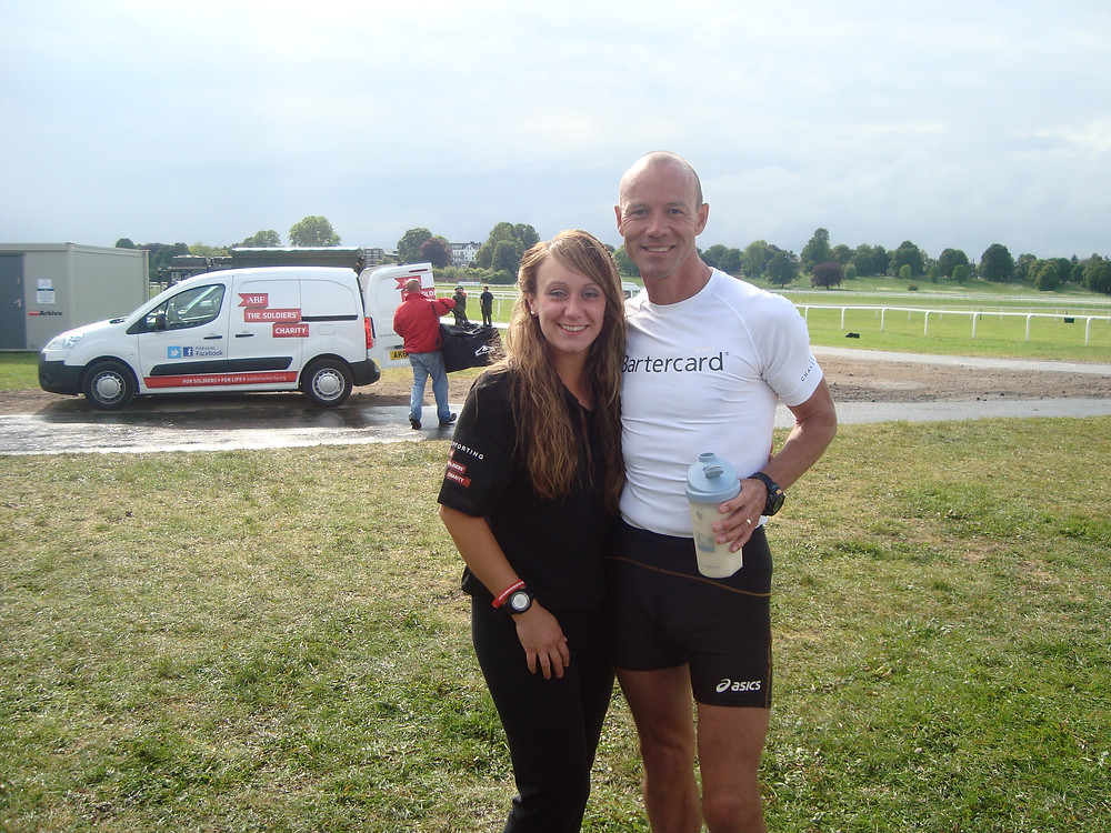 Sophie Vowden with Andy McMenemy on Challenge66