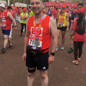 """You made it possible for me to run the London Marathon"" - Ed Scott"