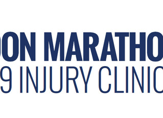 We are proud to announce that we are an official London Marathon injury clinic