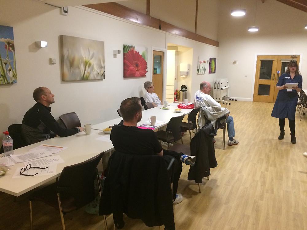 St Clare Hospice VLM advice evening