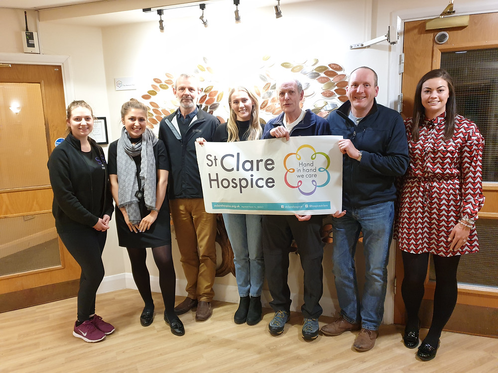 SV attends second St Clare Hospice London Marathon information evening