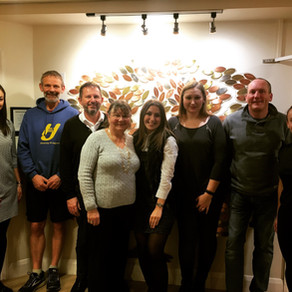 SV attends first of three St Clare Hospice London Marathon information evenings