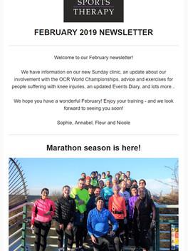 February 2019 Newsletter