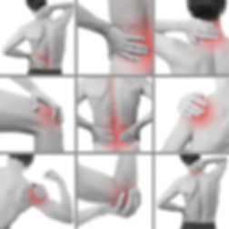 Parts of the body treated at SV Sports Therapy