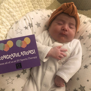 Congratulations to our pregnancy therapy client, Peri, on the birth of Alba