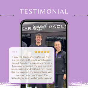 Client testimonial from Nuclear Races!
