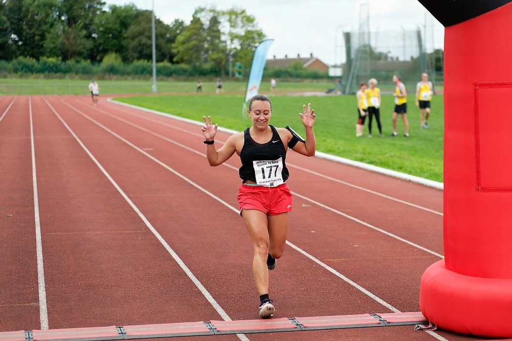 Sophie Vowden at Harlow 10
