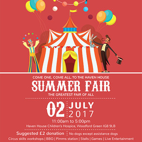 SV charity partner, Haven House, to hold summer fair on 2 July 2017
