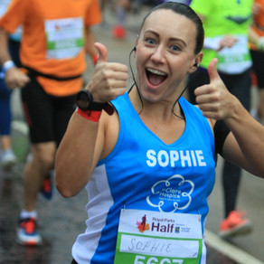 SV's Sophie runs the Royal Parks Half for St Clare Hospice