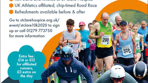 SV to support St Clare Hospice 10k