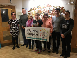 SV Sports Therapy attends London Marathon advice evening at St Clare Hospice