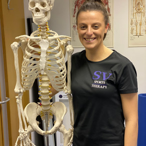 Introducing our new sports therapist, Pip