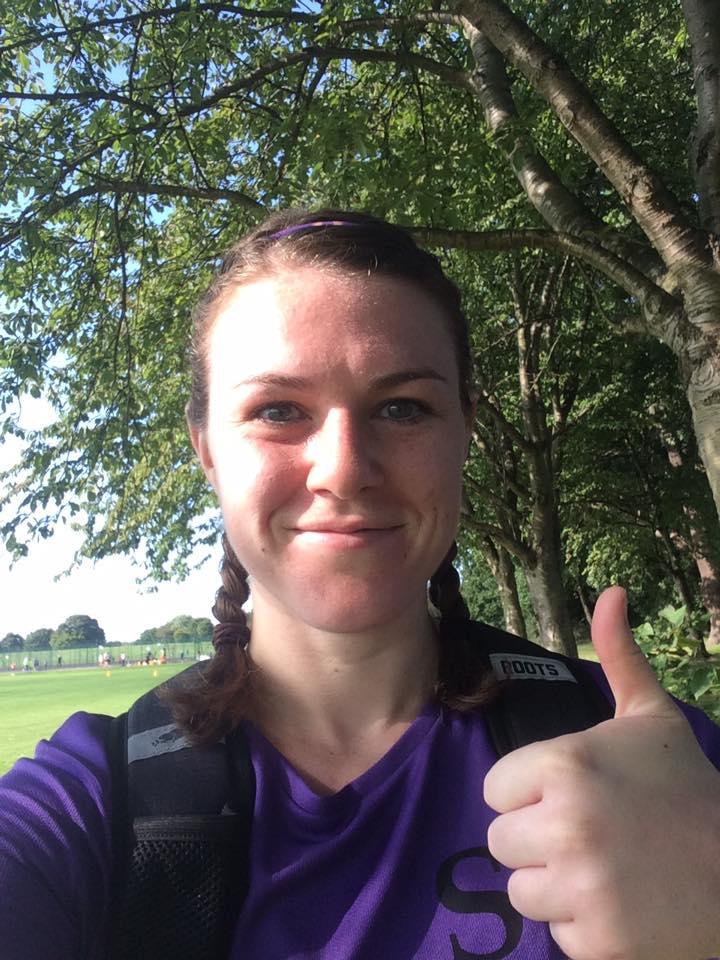 Jess Armstrong at parkrun