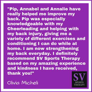 """""""I definitely recommend SV based on my amazing experience and kindness I have received"""" -"""
