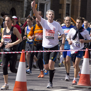 Advice from a London Marathon runner: John Hanlon