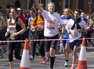 Advice from a London Marathon runner: John Hanlon