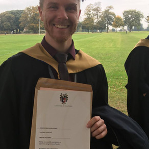 SV Sports Therapy's Chris Snipp now holds an MSc in Strength & Conditioning